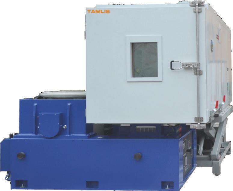 温度/湿度/振动三综合环境试验箱系统